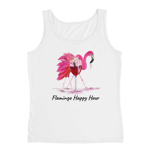 Flamingo Happy Hour • Ladies' Tank