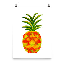 Golden Pineapple • Art Print