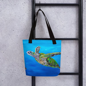 Sea Turtle • Tote bag