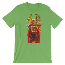 Llama Green Short-Sleeve Unisex T-Shirt