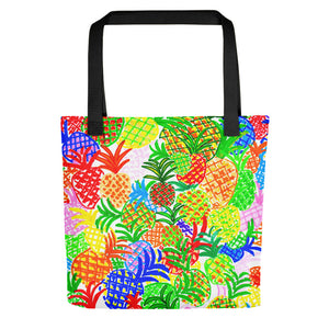 Colorful Pineapples • Tote Bag