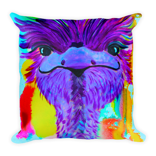 Ostrich • Square Pillow