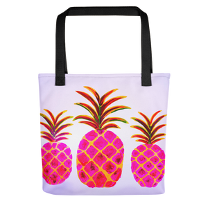 Pineapple Pink • Tote Bag