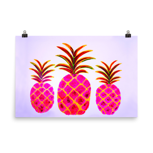 Pineapple Pink • Art Print