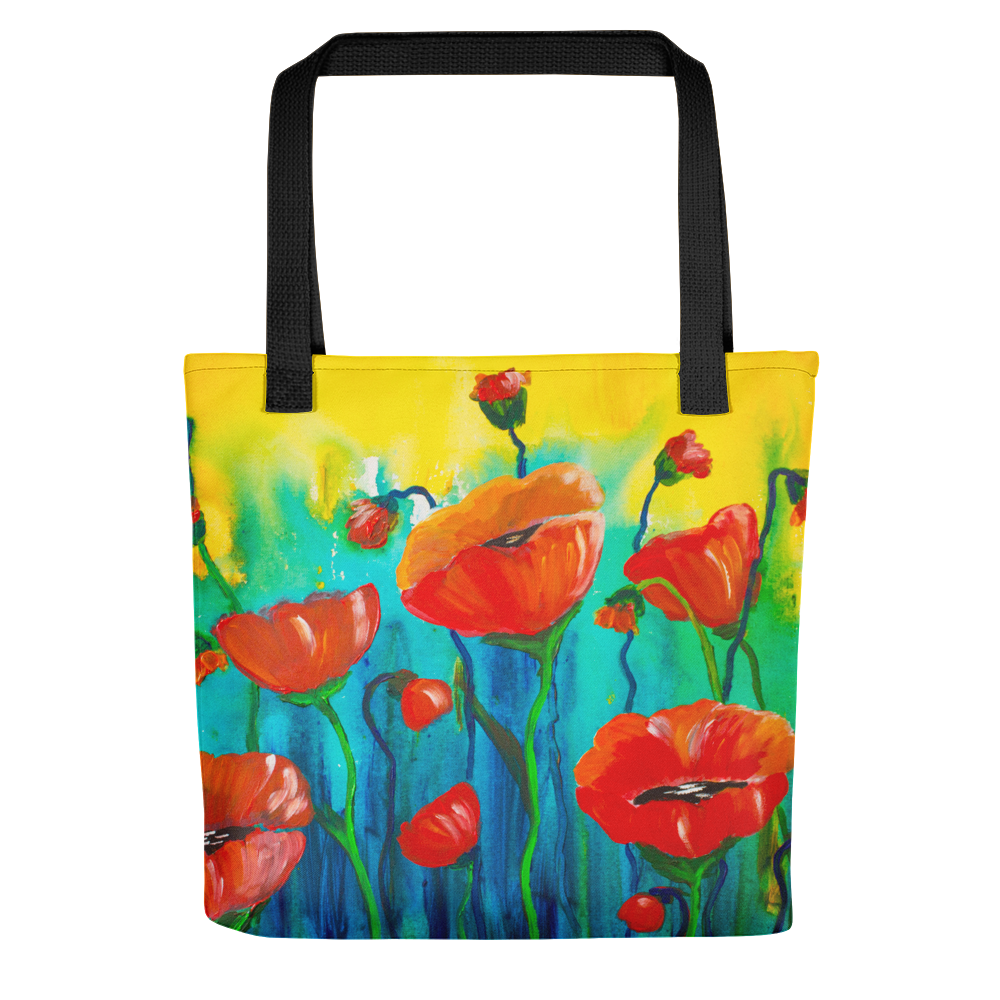 Poppies • Tote Bag