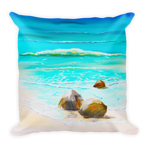 Washed Ashore • Square Pillow