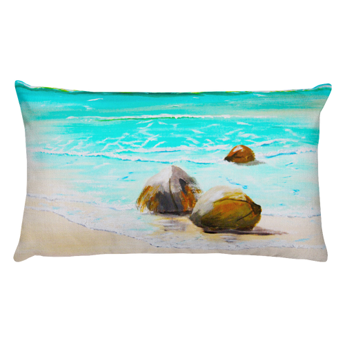 Washed Ashore • Rectangle Pillow