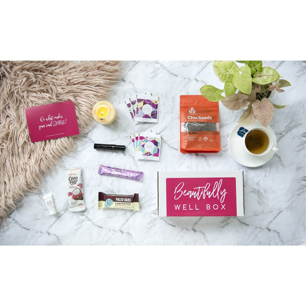 October 2019 'Mental Wellbeing' Beautifully Well Box - Beautifully Well Box