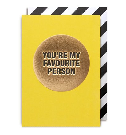Favourite Person Gift Card