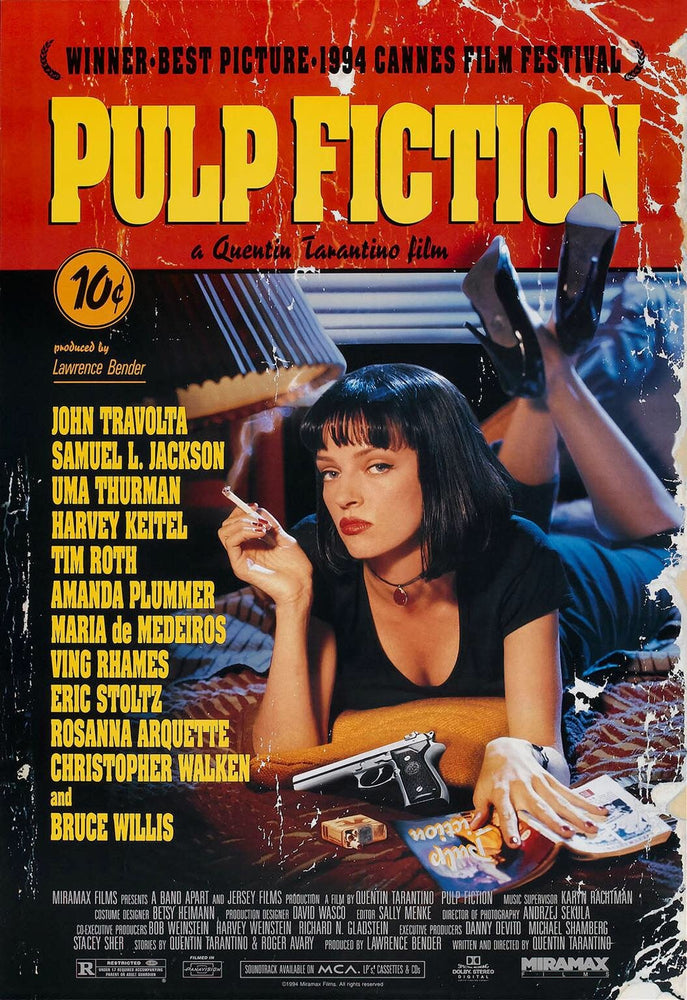 PULP FICTION - Sunday 16th June 2019