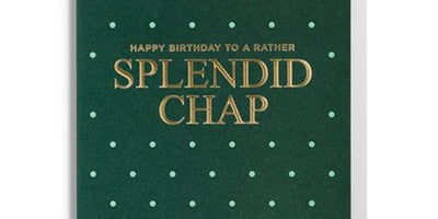 Splendid Chap Birthday Gift Card
