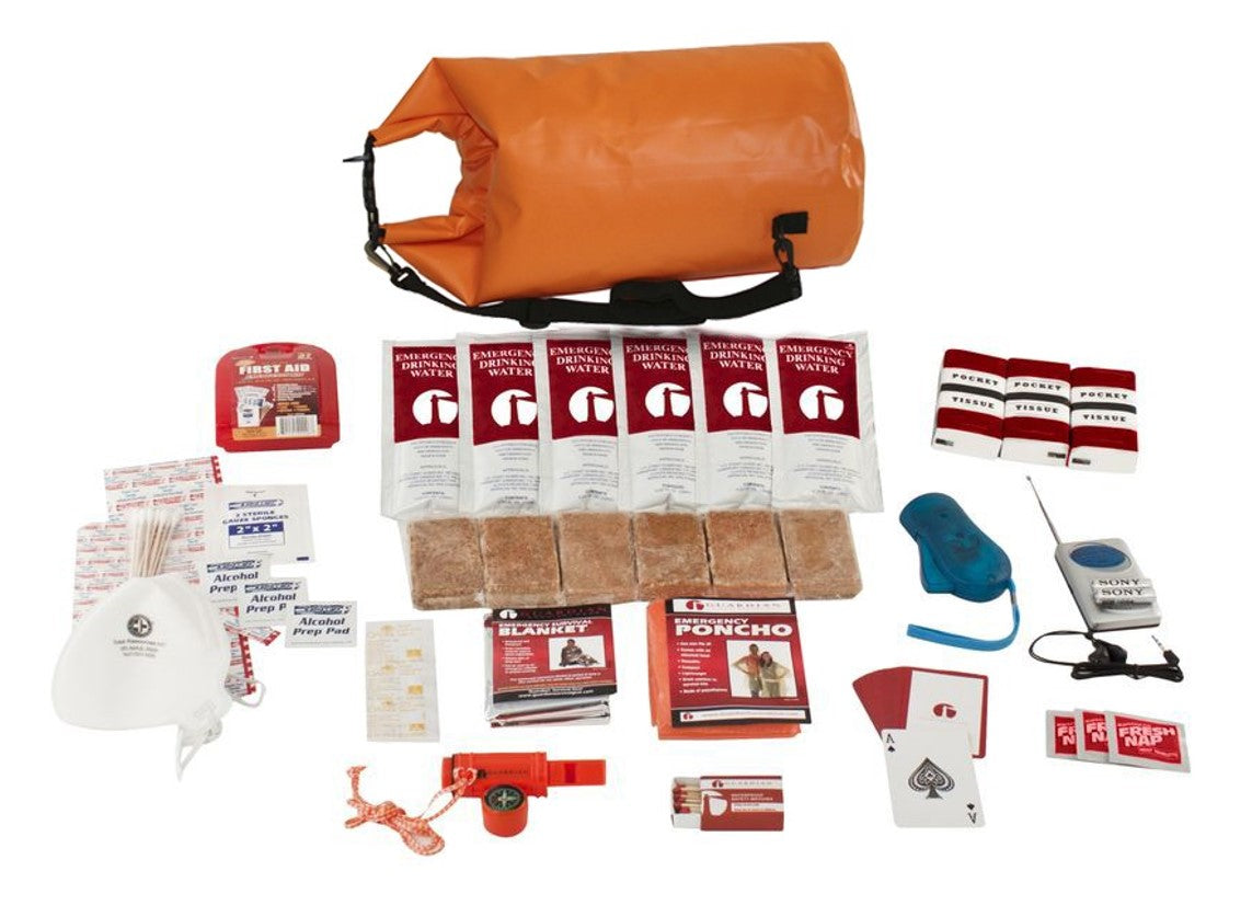 1 Person Survival Kit (72+ Hours) - HAND ASSEMBLED IN THE USA - astoreformom.com