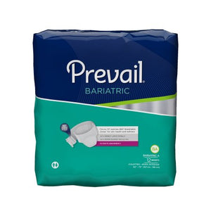"48 Count (Brief) - Adult Incontinent Brief Prevail® Bariatric Tab Closure 2X-Large 62"" to 73"" Waist Disposable Heavy Absorbency - astoreformom.com"