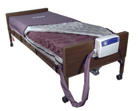 Bed Mattress System Med-Aire® Alternating Pressure / Low Air Loss 36 X 80 X 8 Inch - astoreformom.com
