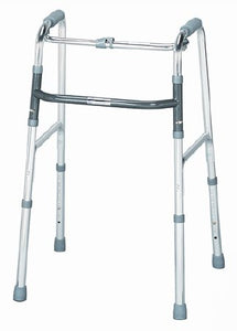 Single Release Folding Walker Adult sunmark® Aluminum 300 lbs. 32 to 36 Inch - astoreformom.com