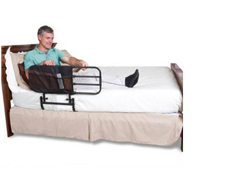 Half Bed Side Rail EZ Adjust 23 Inch 26 to 42 Inch - astoreformom.com
