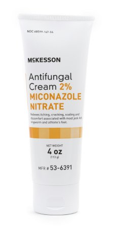 Antifungal McKesson 2% Strength Cream 4 oz. Tube - astoreformom.com