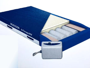 Bed Mattress Med-Aire® Essential Alternating Pressure / Low Air Loss 80 X 35.5 X 8 Inch - astoreformom.com