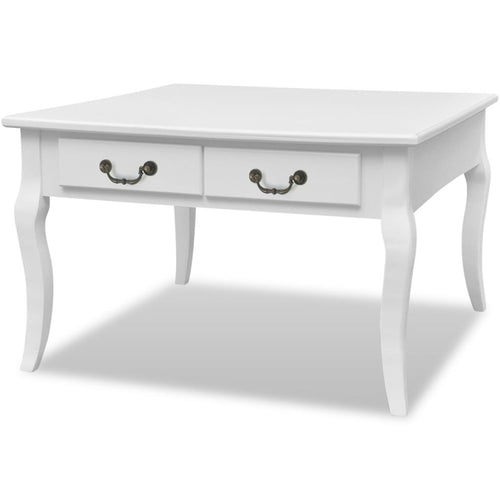 French Provincial - Coffee Table, White