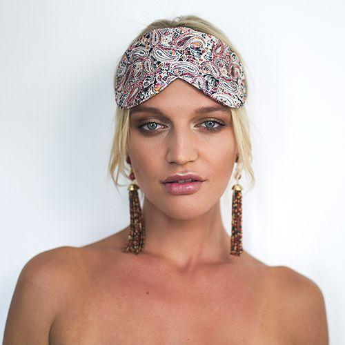 Eye Mask/Sleep Mask, SILK - Chloe in Coachella,  Australian Designer