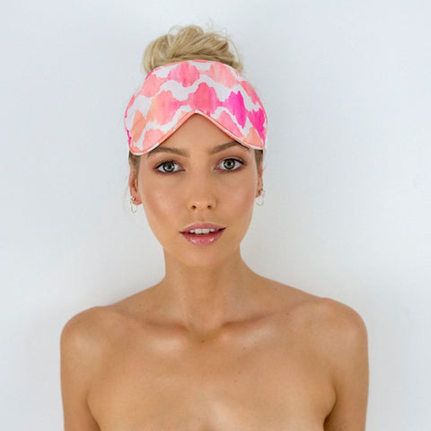 Chic Shower Turban/Cap- AMELIE Monochrome Stripe, Australian design
