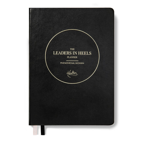 Leaders in Heels Planner – Phenomenal Woman, BLACK