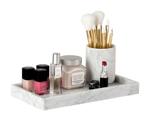 Marble Tray, Carrara - Rectangle