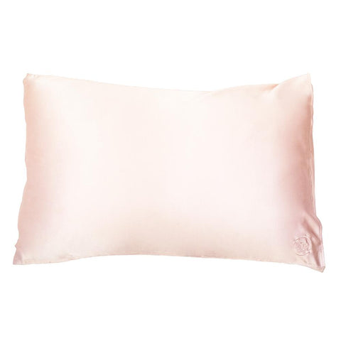 Silk Sleep Mask - Shimmering Nude colour, with gift box