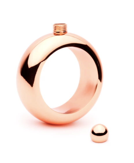 Bangle Flask - Boozy Bangle (Rose Gold)