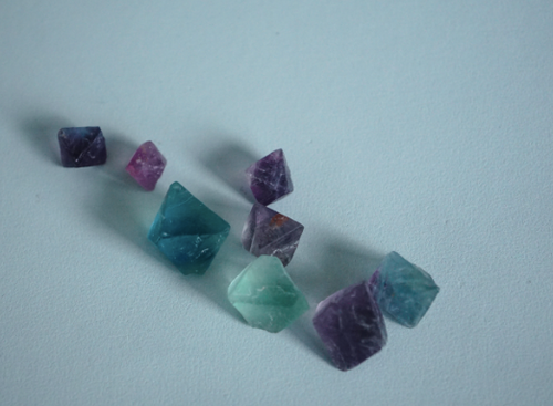 Mini Fluorite Pack, Crystals Raw