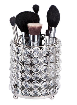 Glamour Brush Holder - Crystals