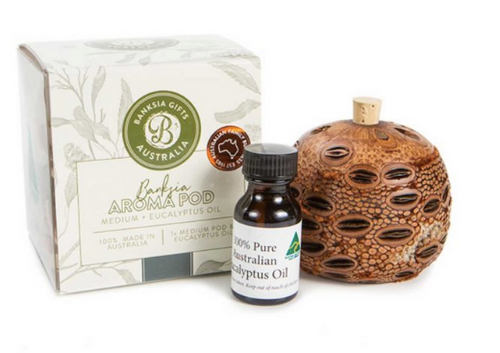 Banksia Aroma Pod Giftpack with Eucalyptus Oil