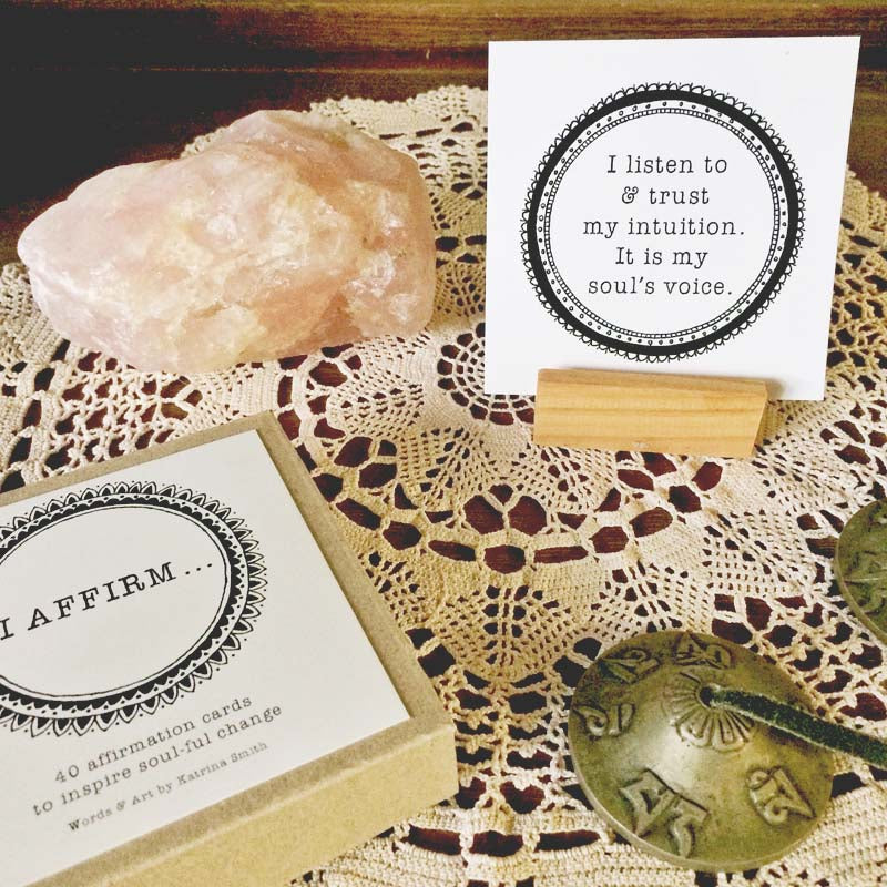 I AFFIRM - Meditation Cards, Affirmation cards 40 pieces