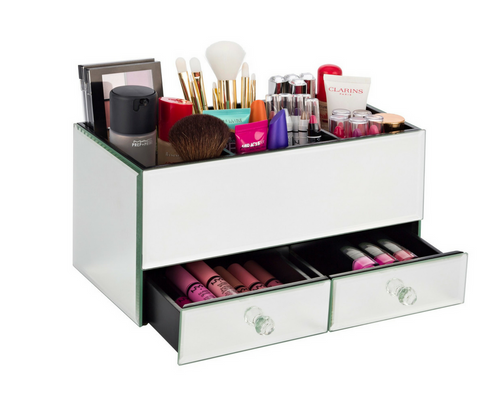 Mirrored Makeup Organiser