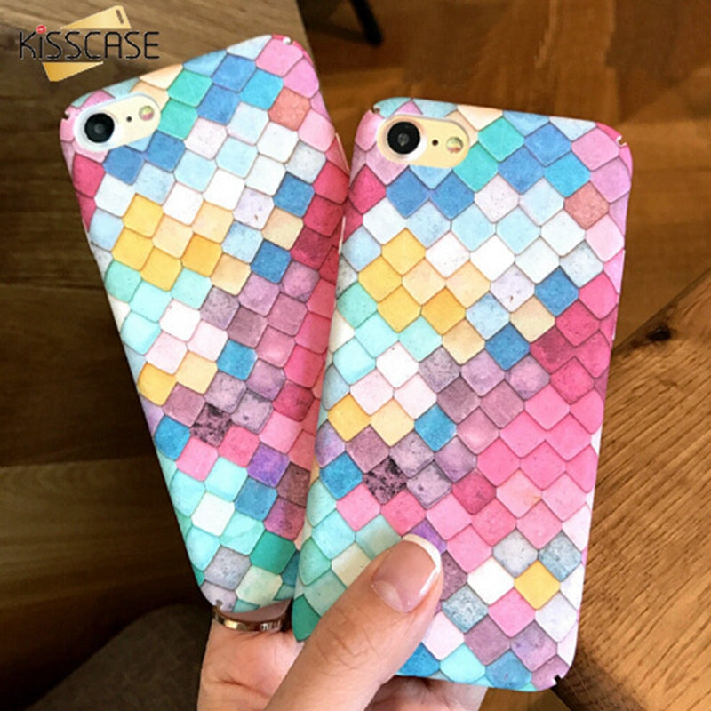 Colourful Scales Phone Case: iPhone only, variou izes