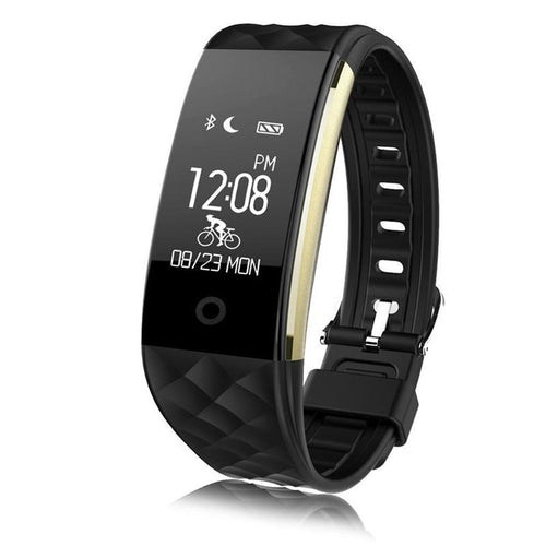 Fitness Tracker - Bluetooth, Waterproof, pedometer, heart monitor, sleep - 3 Colours