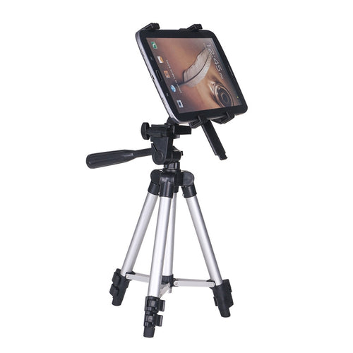 Phone Tripod - Universal Retractable Adjustable, 180 Degree Rotating Stand