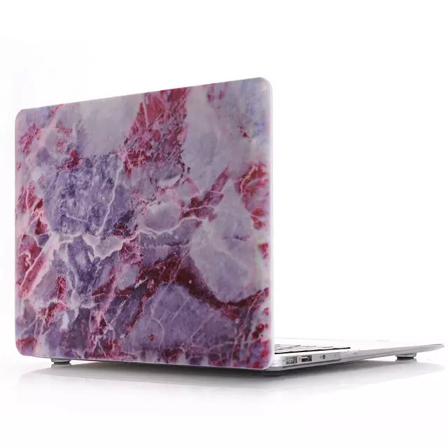 Marble Laptop Case, 8 Colours - Hard Cover for Macbook Air, Pro 11 12 13 15 inch sizes