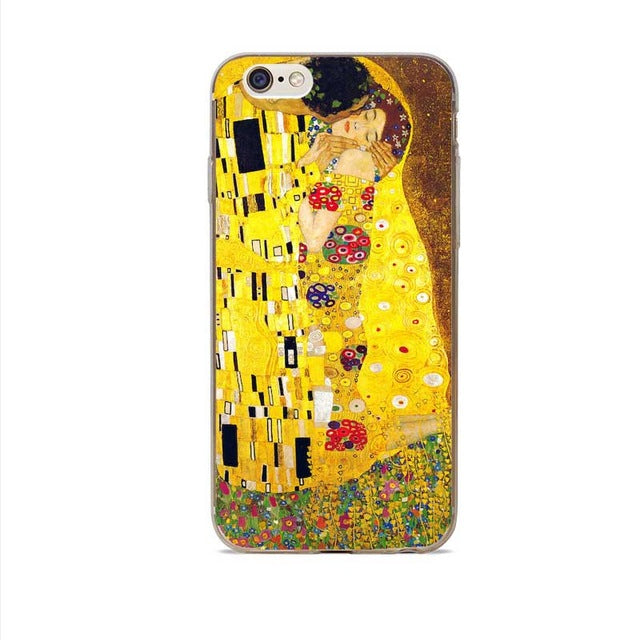 THE KISS - Gustav Klimt Phone Cover Cases - For iPhone Only