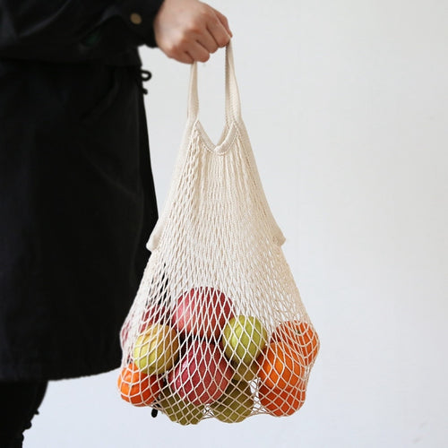 French Market Bag, Crochet Market Bag, Cotton Net Bag, Handmade Eco Tote, Farmers Market Bag, Crochet Mesh Bag, Quality Shopping Bag