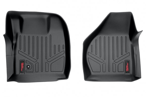 HEAVY DUTY FLOOR MATS [FRONT] - (08-10 FORD SUPER DUTY CREW CAB)