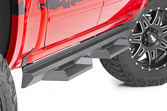 FORD DS2 DROP STEPS (99-16 SUPER DUTY | CREW CAB)