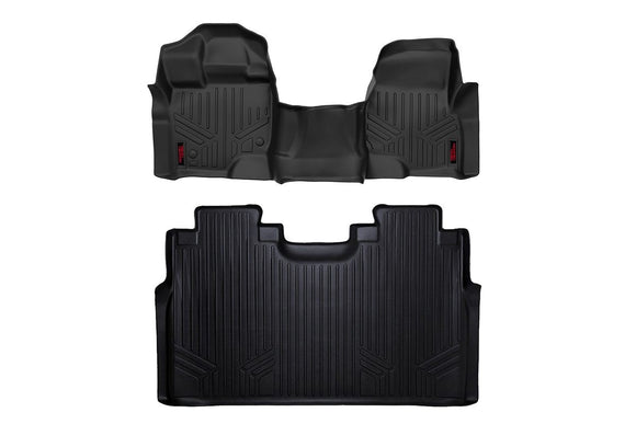 HEAVY DUTY FLOOR MATS [FRONT/REAR] - (15-18 FORD F-150)