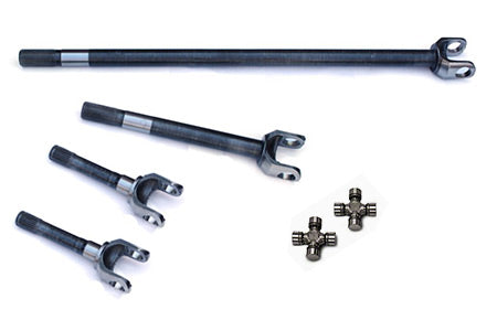 Yukon 4340 Chromoly Replacement Axle Kit For '07-'15 Dana 30 Front, Non-Rubicon JK, W/SuperJoints