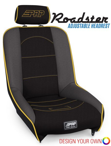 Roadster with Adjustable Headrest