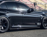 Aeroform Carbon Fiber Side Skirt Extensions BMW F80 M3 | F82 M4 15-17
