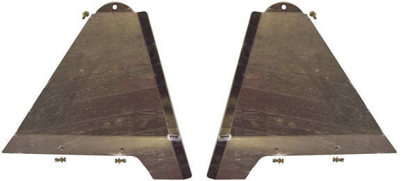 LONG TRAVEL LOWER CONTROL ARM SKID PLATES +2