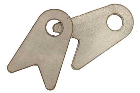 Angled Shock Tab, Pair