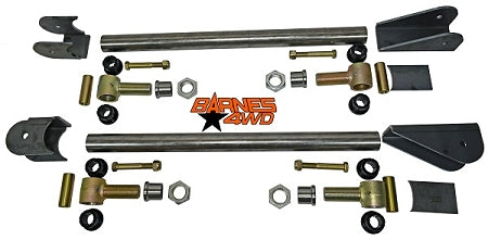 TRACTION BAR KIT WITH 1 1/4 FORGED POLY JOINTS