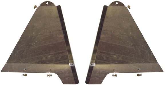 LONG TRAVEL LOWER CONTROL ARM SKID PLATES +3.5